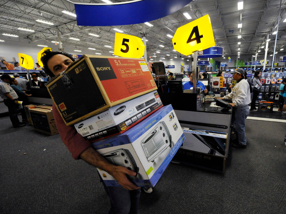 compras en black friday