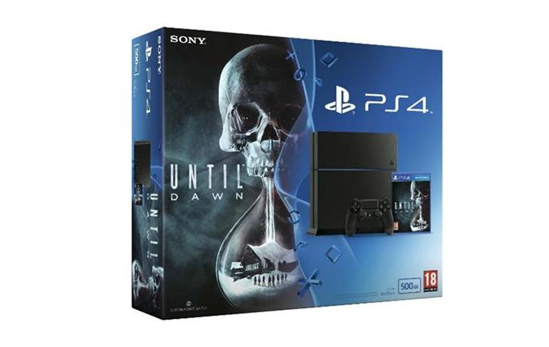 PS4 500 GB + Until Dawn